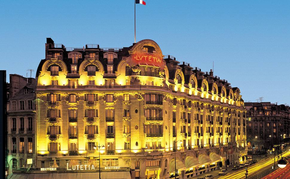The Lutetia at night