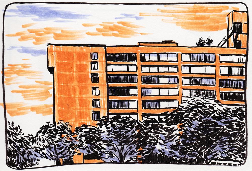 Boston Apartment Building