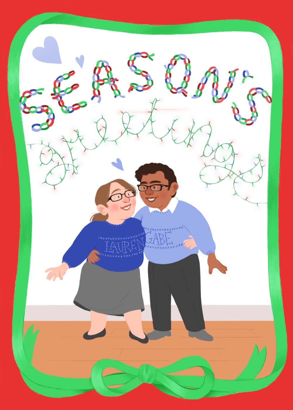 Lauren and Gabe's Holiday Card