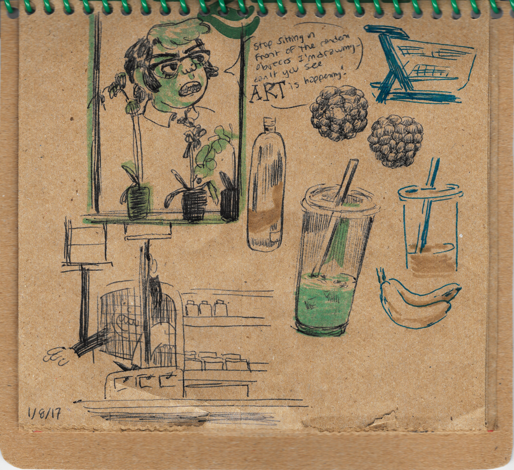 Brown Bag Sketchbook #1