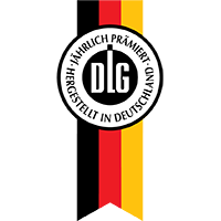 ErnteGOLDは2014年、2015年ドイツでDLG(ドイツ農業協会)コンテストを満点で受賞しました。