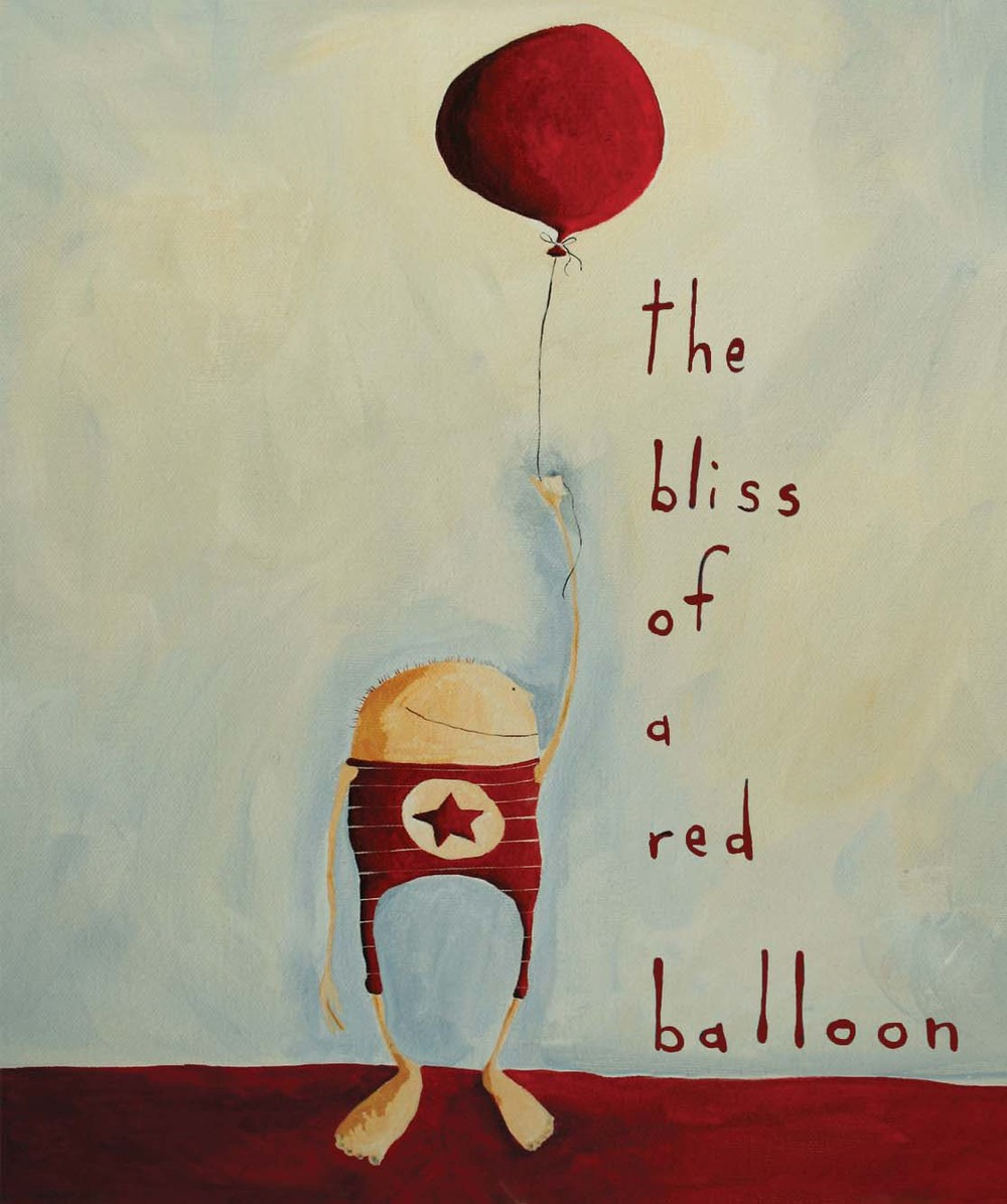 bliss of a red balloon
