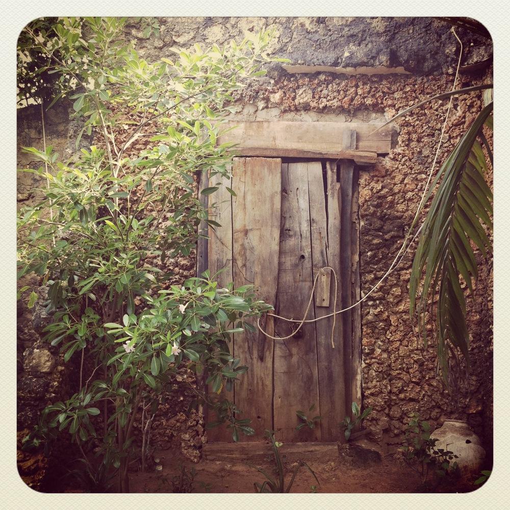 door, lamu island