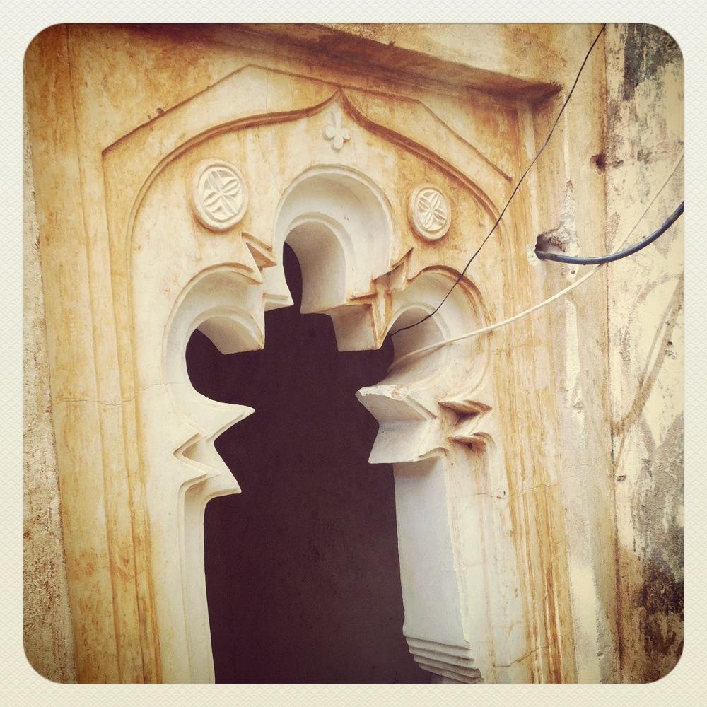 doorway, lamu island kenya