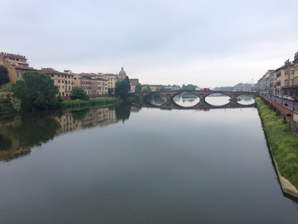 the river arno, florence, italy
