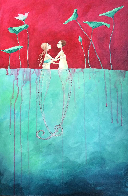 the deep flow of love