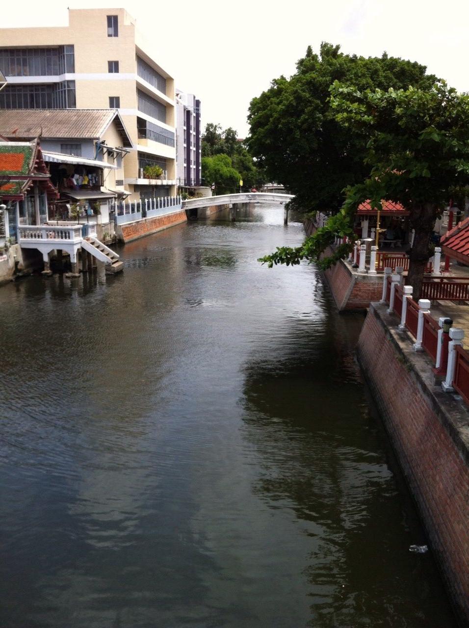 canals, bangkok, thailand