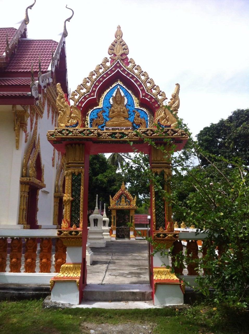 temple, koh phangan, thailand