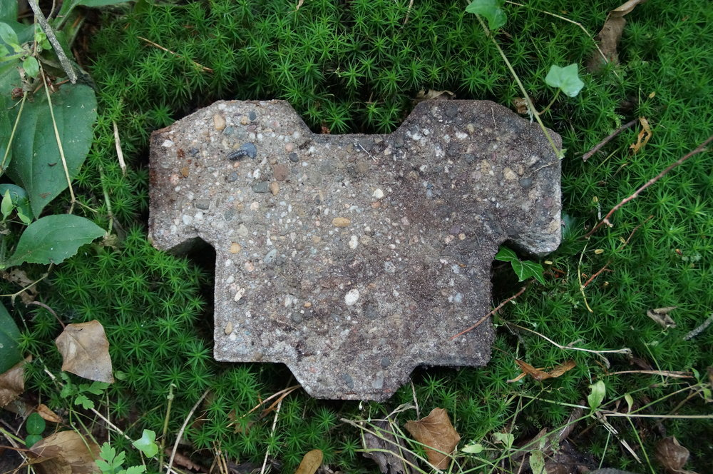 Eagle-shaped brick