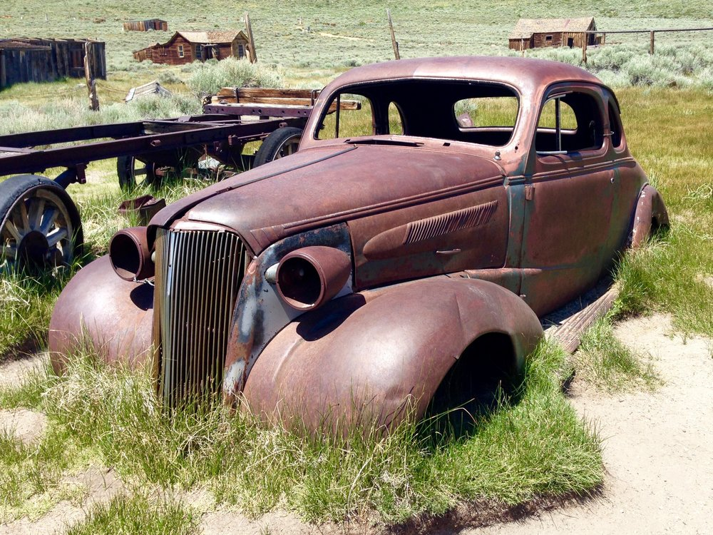 Abandoned Chevrolet Coupe from 1937
