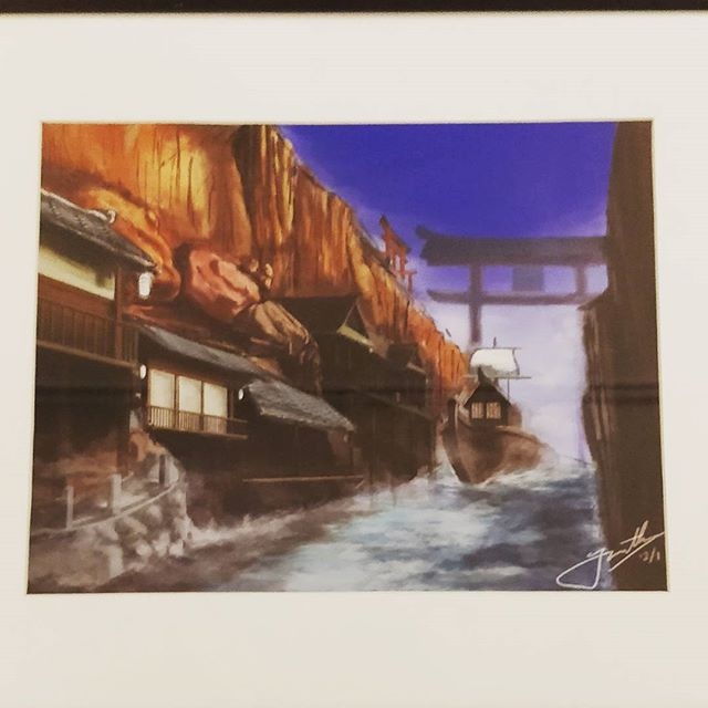 Amazing art piece done by our student @jonathanxiong316 ! ✨✨ @delphianschool @delphianarts @studentart