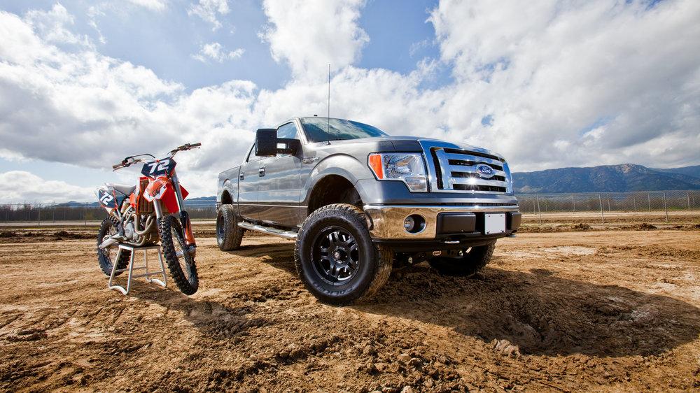 Truck and Bike