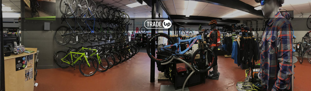 1. Submit Your Bike  2. Get Preapproved  3. TRADE UP!
