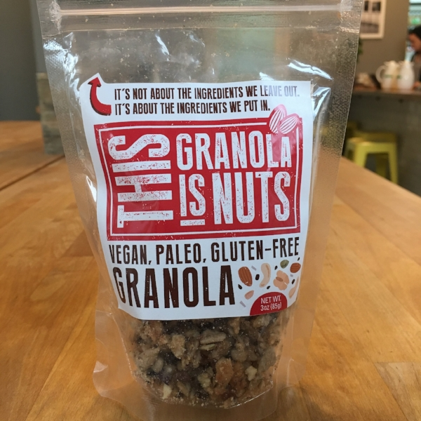 This granola is nuts, too!
