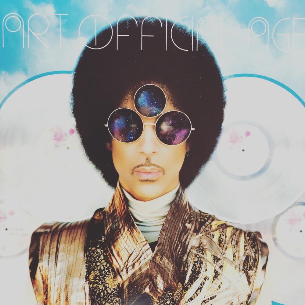 Prince「Art Official Age」のジャケット。最高でした。
