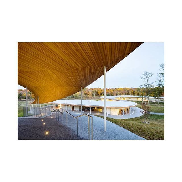 2015. Grace Farms.  @gracefarmsct @sanaa.jp  @arensonoffice . . #architecturalphotography #connecticutarchitecture  #archdaily #architecture #instaarchitecture