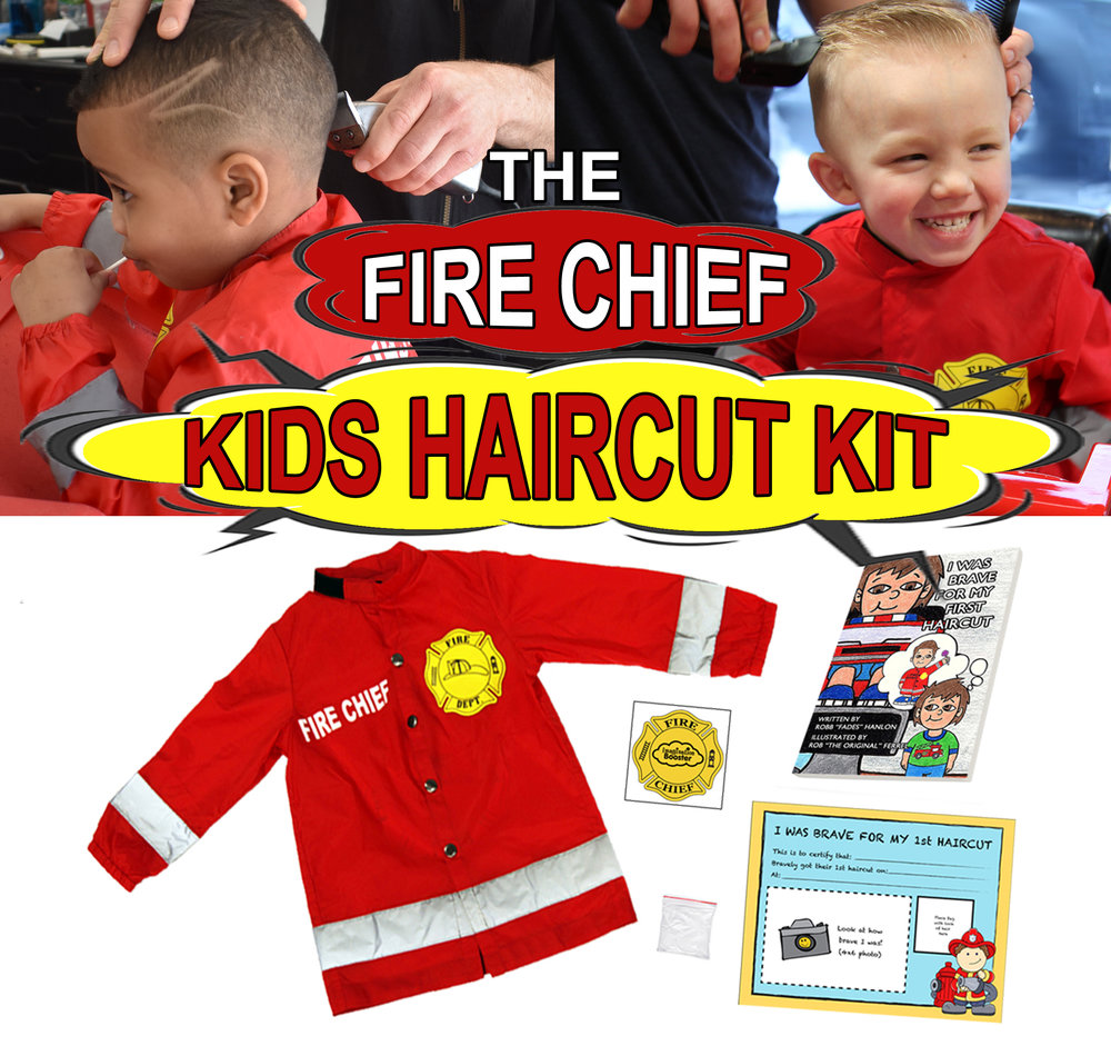 Fire Chief Kids Haircut Kit The Imagination Booster