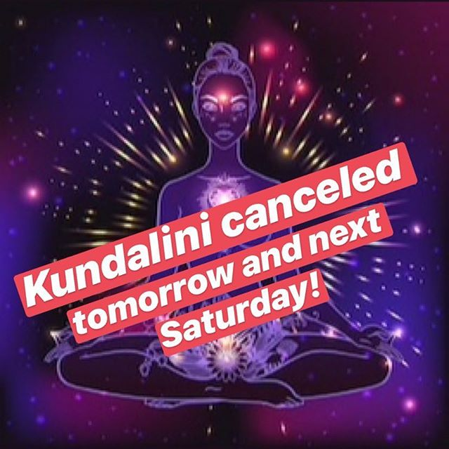 Kundalini is cancelled tomorrow and next Saturday while the lovely Sukhmani and Sukhman travel! Thank you all for understanding! We'll meet you back on the mat starting March 30th!! #yogapants #yoga #kundalini