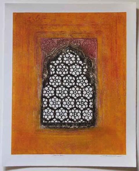 Choti Jali  Etching & Monoprint Size: 50cm x 58cm