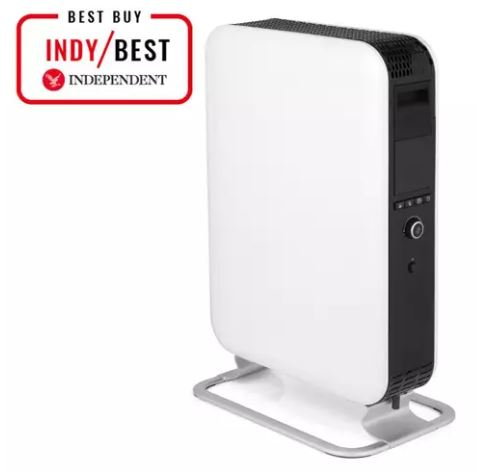 Mill Oil Premium WiFi awarded the best portable heater by The Independent October 2018.