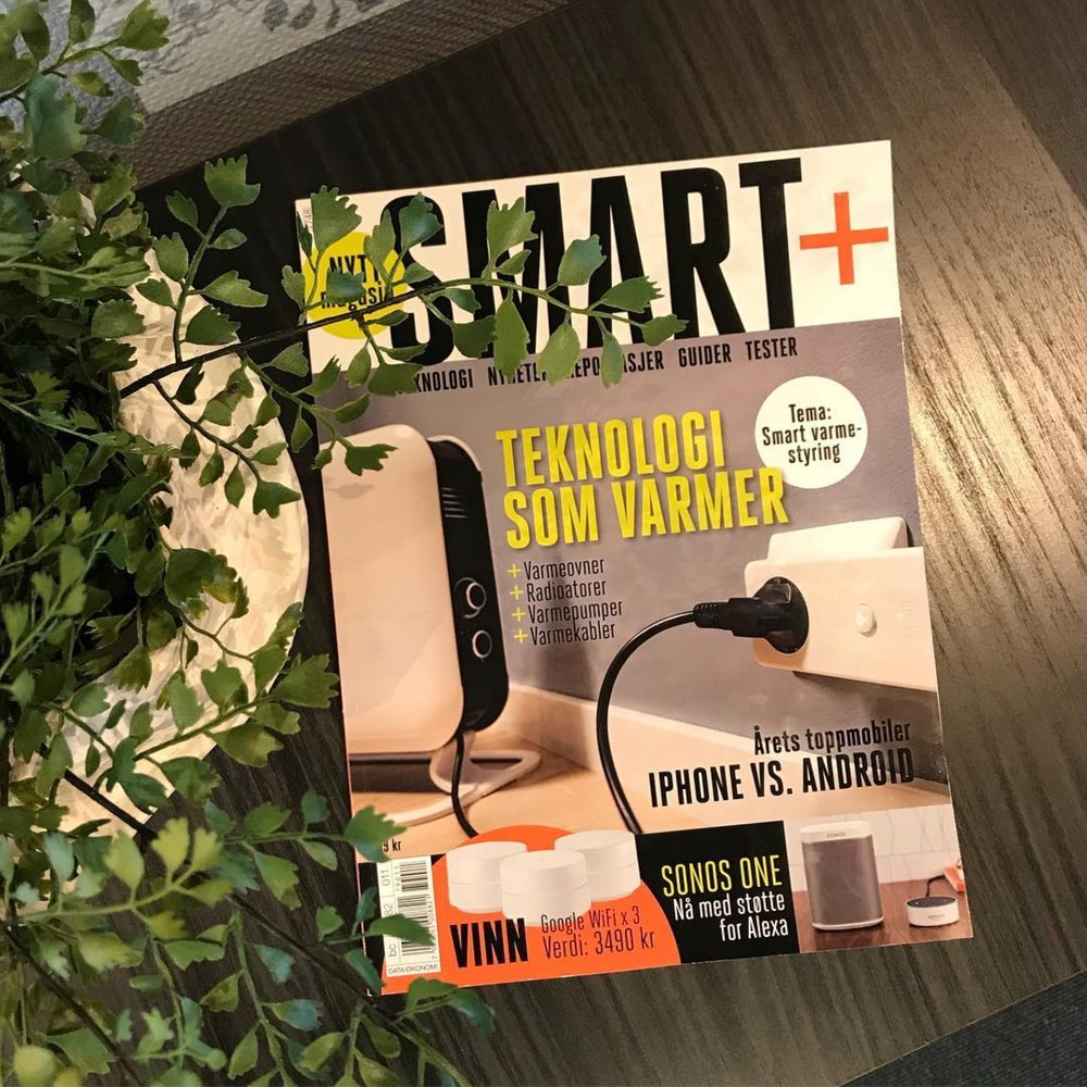Mill on front page of Nowegian tech magazine SMART+