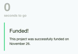 RiutBag funded on Kickstarter