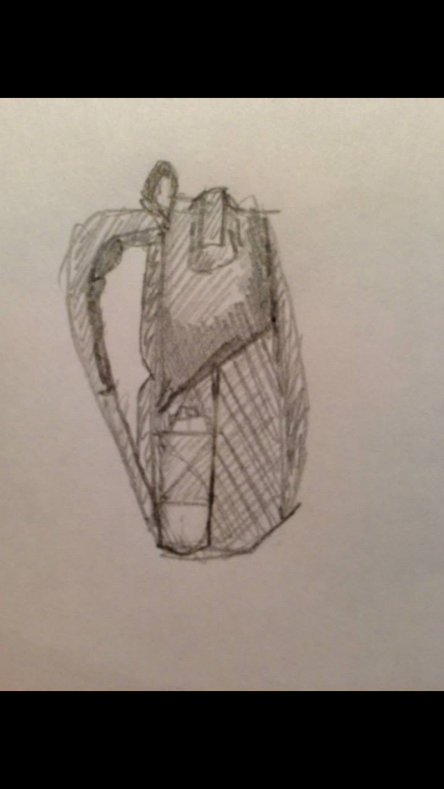 RiutBag prototype sketches by Sarah Giblin