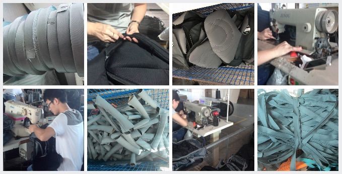Making RiutBags handmade in China