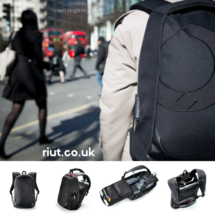 PRE-ORDER due to ship 30 May 2017: RiutBag R10 | Secure black ...