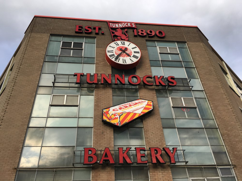 The Tunnocks factory in Uddingston, Scotland. My first home :)