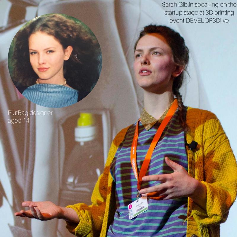 sarah giblin riutbag riut entrepreneur advice to teenagers