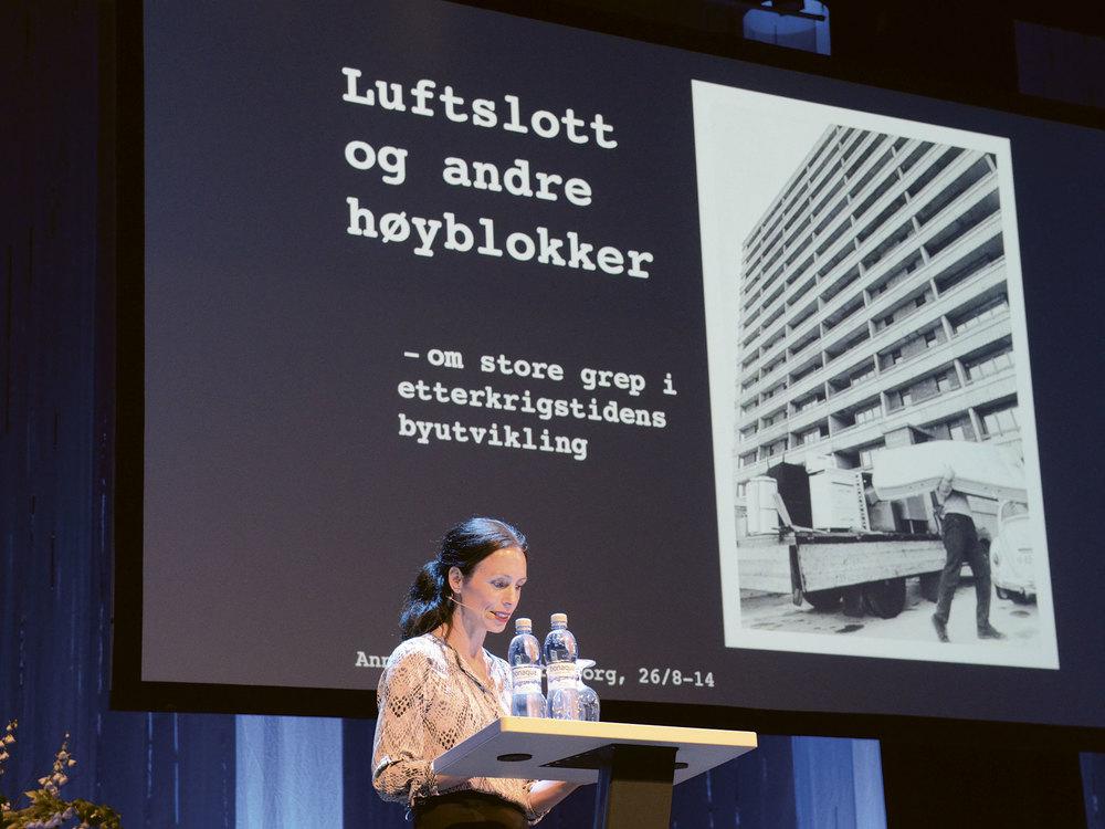 OBOS Boligkonferanse hadde i 2014 overskriften «Store byer. Store grep». Foto: Henrik Sørlie