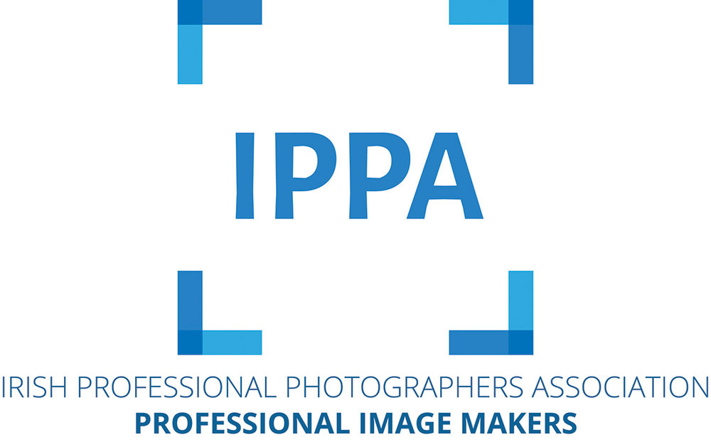 Member of the Irish Professional Photographers Association - The Irish Professional Photographers & Videographers Association (IPPVA) was founded in 1949, and has practising members located throughout the country. By ensuring that you are dealing with an IPPVA member, you are giving yourself the peace of mind and added security of a professional service provided by a qualified photographer.