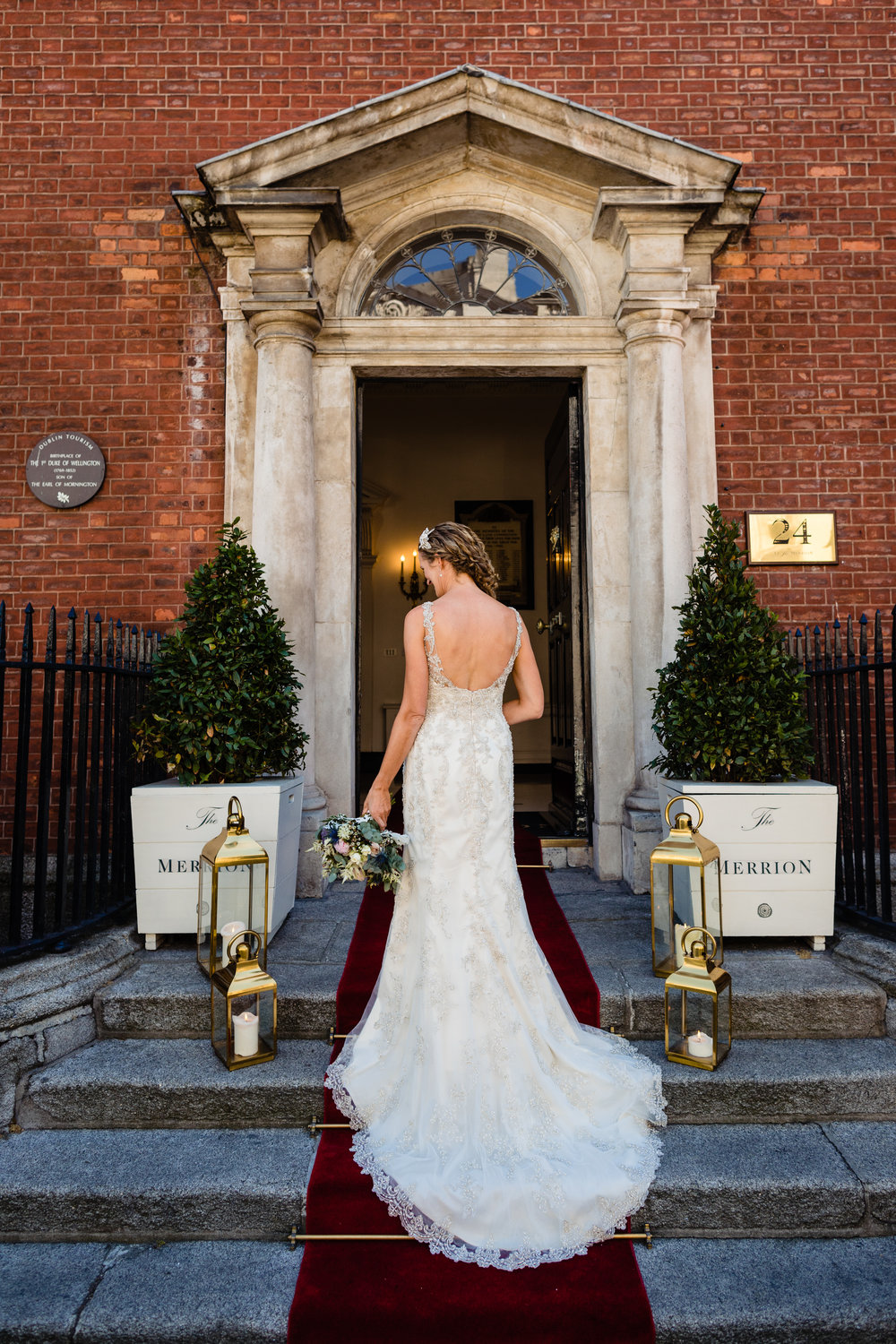 The Merrion Hotel wedding photo