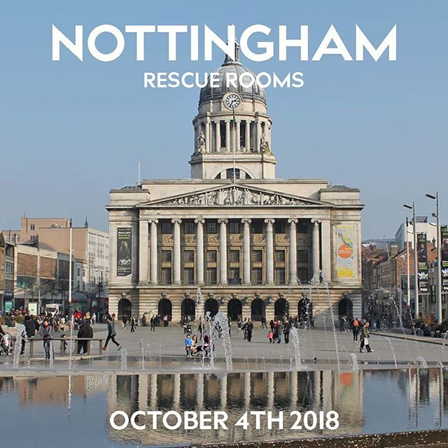 People of Nottingham! Have you got your tickets for our show at @rescuerooms next week? We're down to the final few tickets: link in bio.