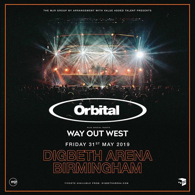 Birmingham! We're heading to Digbeth Arena in May with @orbital and it's going to be great 💥 Tickets go on sale this Thursday at 9am, but you can register for access to a special pre-sale on Wednesday - link in bio (via our website).