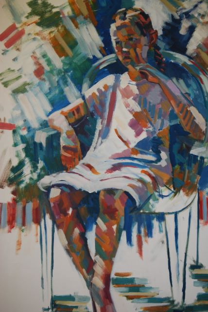 Seated Figure by Ron Satterthwaite in oil (428x640).jpg