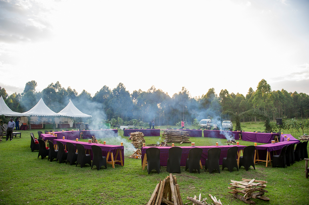 Songa Africa Bush Dinner, Volcanoes National Park, Rwanda