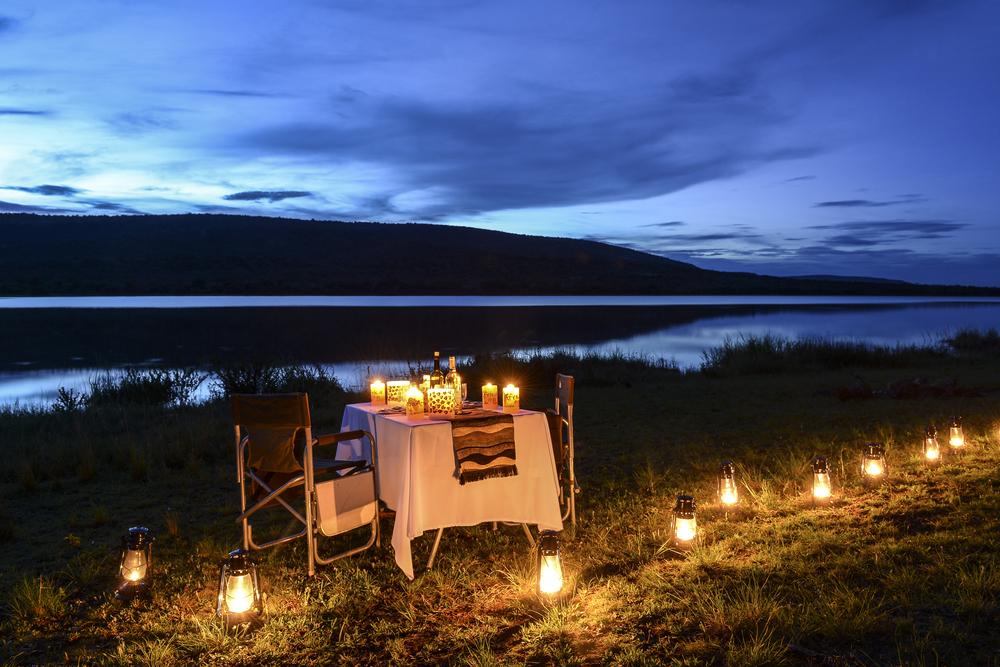 Songa Africa Lakeside Dinner, Lake Ihema, Rwanda