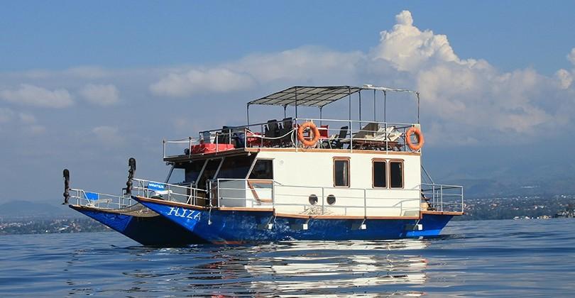 Iliza Houseboat, Lake Kivu, Rwanda