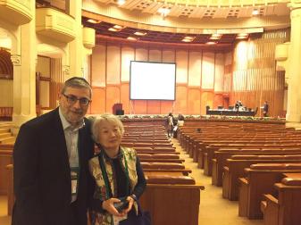 Dr. Harari og prof. Shigeko Inokuma, Japan