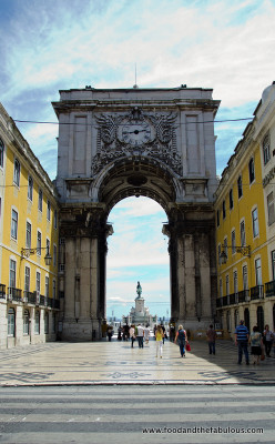 Gate to Praca do Comercio