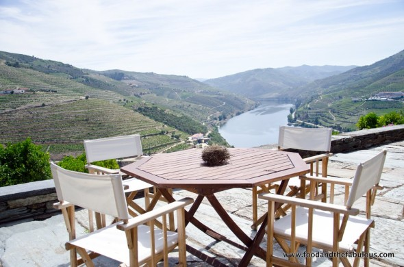 View toward Douro river
