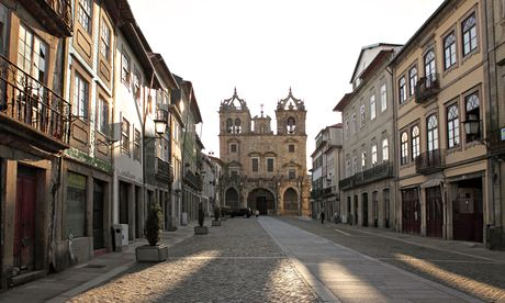 Morning at the Cathedral in Braga. Photograph: Alamy