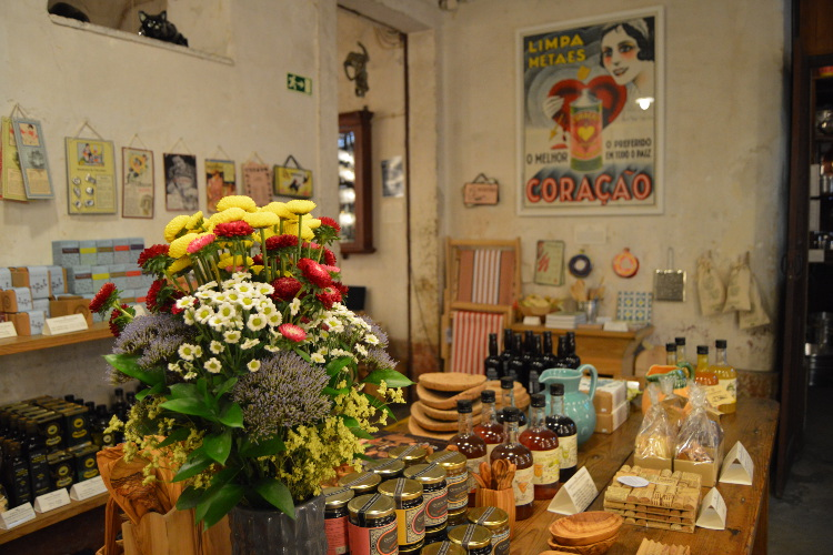 Nostalgic products at A Vida Portuguesa, Chiado. Image by Kate Armstrong / Lonely Planet