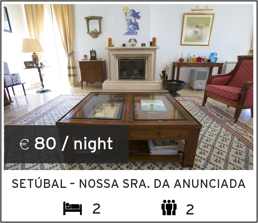 holiday rental in setubal