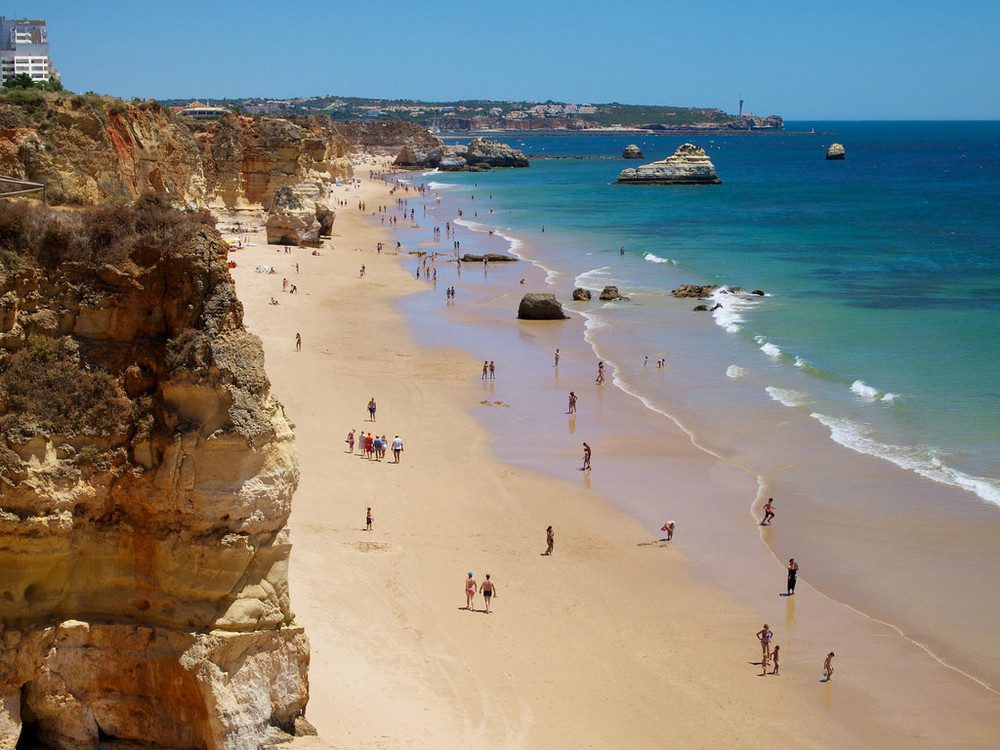 Praia da Rocha, Algarve.