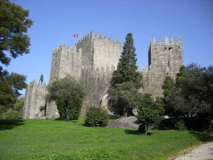 Guimarães Castle, the birthplace of Portugal.