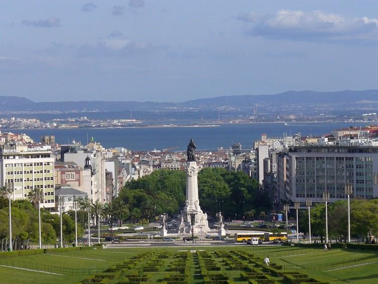 Praça Marquês de Pombal, Lisbon.