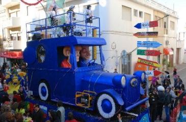 Carnival in Olhão